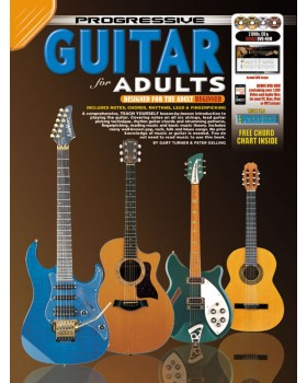 Progressive Guitar for Adults - Teach Yourself How to Play Guitar