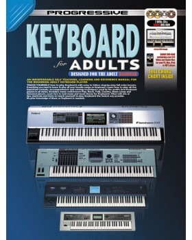 Progressive Keyboard for Adults - Teach Yourself How to Play Keyboard