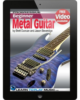 Metal Guitar Lessons for Beginners - Teach Yourself How to Play Guitar (Free Video Available)