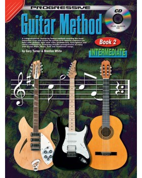 Progressive Guitar Method - Book 2 - Teach Yourself How to Play Guitar