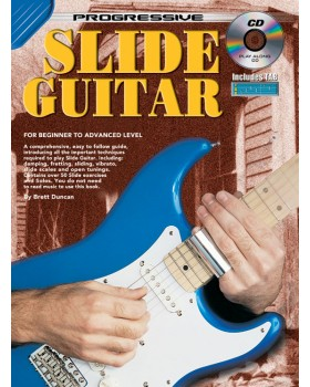 Progressive Slide Guitar - Teach Yourself How to Play Guitar
