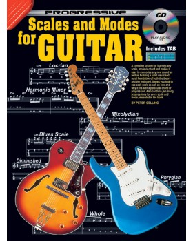 Progressive Scales and Modes for Guitar - Teach Yourself How to Play Guitar
