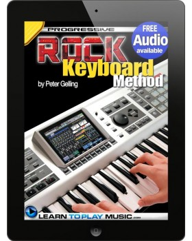 Rock Keyboard Lessons - Teach Yourself How to Play Keyboard (Free Audio Available)