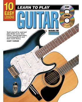10 Easy Lessons - Learn To Play Guitar - Teach Yourself How to Play Guitar