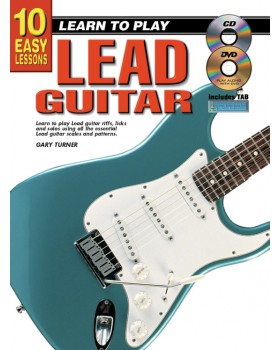 10 Easy Lessons - Learn To Play Lead Guitar - Teach Yourself How to Play Guitar
