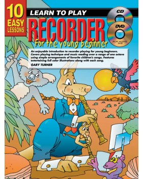 10 Easy Lessons - Learn To Play Recorder for Young Beginners - How to Play Recorder for Kids