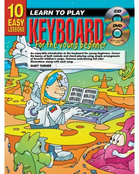 10 Easy Lessons - Learn To Play Keyboard for Young Beginners - How to Play Keyboard for Kids