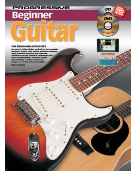 Progressive Beginner Guitar - Teach Yourself How to Play Guitar