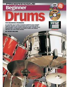 Progressive Beginner Drums - Teach Yourself How to Play Drums