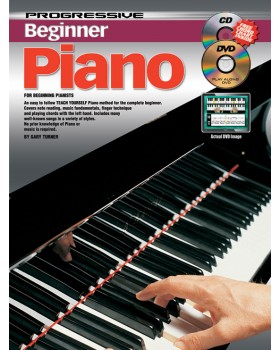 Progressive Beginner Piano - Teach Yourself How to Play Piano