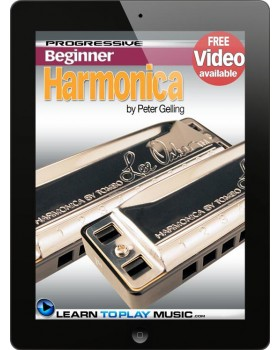Harmonica Lessons for Beginners - Teach Yourself How to Play Harmonica (Free Video Available)
