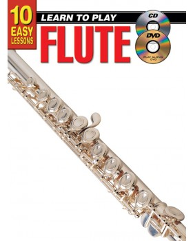 10 Easy Lessons - Learn To Play Flute - Teach Yourself How to Play Flute