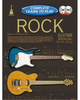 Progressive Complete Learn To Play Rock Guitar Manual - Teach Yourself How to Play Guitar
