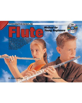 Progressive Flute Method for Young Beginners - How to Play Flute for Kids