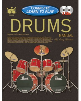 Progressive Complete Learn To Play Drums Manual - Teach Yourself How to Play Drums