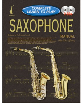 Progressive Complete Learn To Play Saxophone Manual - Teach Yourself How to Play Saxophone