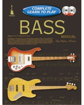 Progressive Complete Learn To Play Bass Manual - Teach Yourself How to Play Bass Guitar
