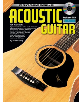 Progressive Acoustic Guitar - Teach Yourself How to Play Guitar
