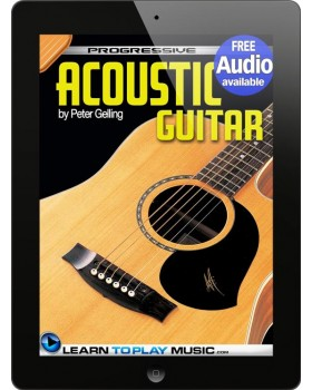 Acoustic Guitar Lessons for Beginners - Teach Yourself How to Play Guitar (Free Audio Available)