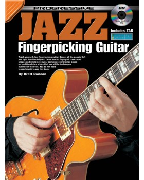 Progressive Jazz Fingerpicking Guitar - Teach Yourself How to Play Guitar