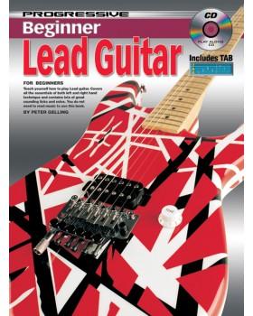 Progressive Beginner Lead Guitar - Teach Yourself How to Play Guitar