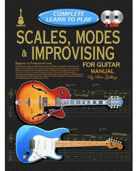 Progressive Complete Learn To Play Scales, Modes & Improvising for Guitar Manual - Teach Yourself How to Play Guitar