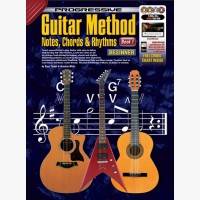 Progressive Guitar Method - Book 1 - Notes, Chords and Rhythms