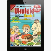 Ukulele Lessons for Kids - Book 1
