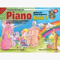 Progressive Piano Method for Young Beginners - Book 1