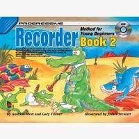Progressive Recorder Method for Young Beginners - Book 2