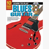 10 Easy Lessons - Learn To Play Blues Guitar