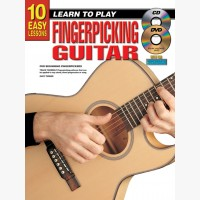 10 Easy Lessons - Learn To Play Fingerpicking Guitar