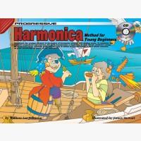 Progressive Harmonica Method for Young Beginners