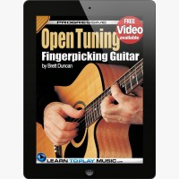 Open Tuning Fingerstyle Guitar Lessons for Beginners