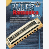 Progressive Blues Harmonica Licks