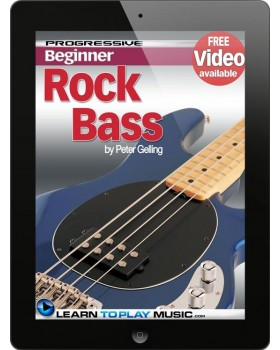 Rock Bass Guitar Lessons for Beginners - Teach Yourself How to Play Bass Guitar (Free Video Available)