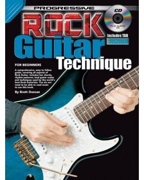 Progressive Rock Guitar Technique - Teach Yourself How to Play Guitar