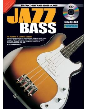 Progressive Jazz Bass - Teach Yourself How to Play Bass Guitar