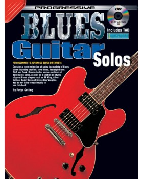 Progressive Blues Guitar Solos - Teach Yourself How to Play Guitar