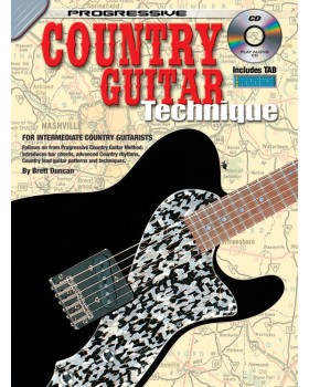 Progressive Country Guitar Technique - Teach Yourself How to Play Guitar