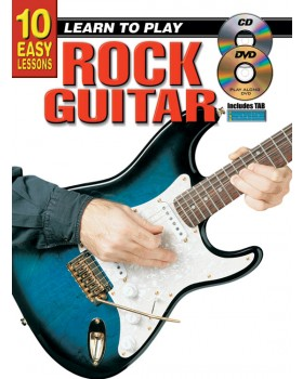 10 Easy Lessons - Learn To Play Rock Guitar - Teach Yourself How to Play Guitar