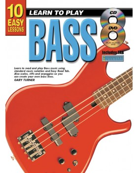 10 Easy Lessons - Learn To Play Bass - Teach Yourself How to Play Bass Guitar