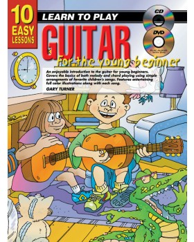 10 Easy Lessons - Learn To Play Guitar for Young Beginners - How to Play Guitar for Kids