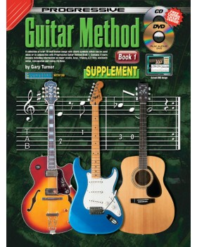 Progressive Guitar Method - Book 1 Supplementary Songbook - Teach Yourself How to Play Guitar