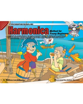 Progressive Harmonica Method for Young Beginners - How to Play Harmonica for Kids