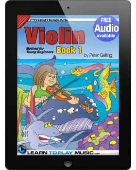 Violin Lessons for Kids - Book 1 - How to Play Violin for Kids (Free Audio Available)