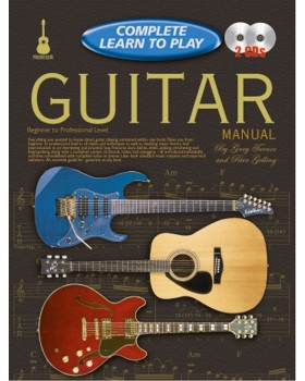 Progressive Complete Learn To Play Guitar Manual - Teach Yourself How to Play Guitar