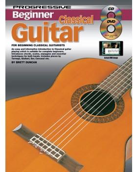 Progressive Beginner Classical Guitar - Teach Yourself How to Play Guitar
