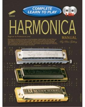 Progressive Complete Learn To Play Harmonica Manual - Teach Yourself How to Play Harmonica