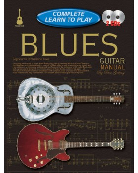 Progressive Complete Learn To Play Blues Guitar Manual - Teach Yourself How to Play Guitar